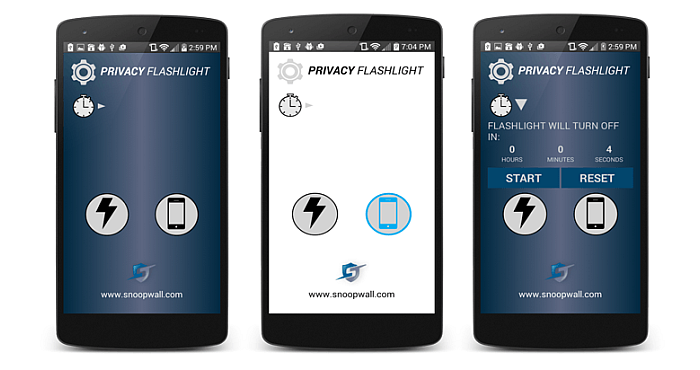 Privacy Flashlight for Android 3