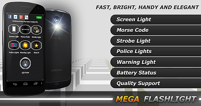 Mega Flashlight for Android 5